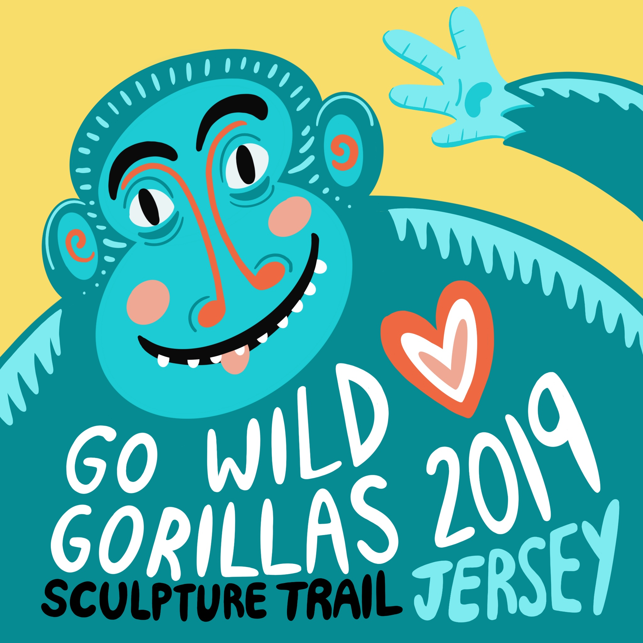 Go Wild Gorillas Art Sculpture Trail