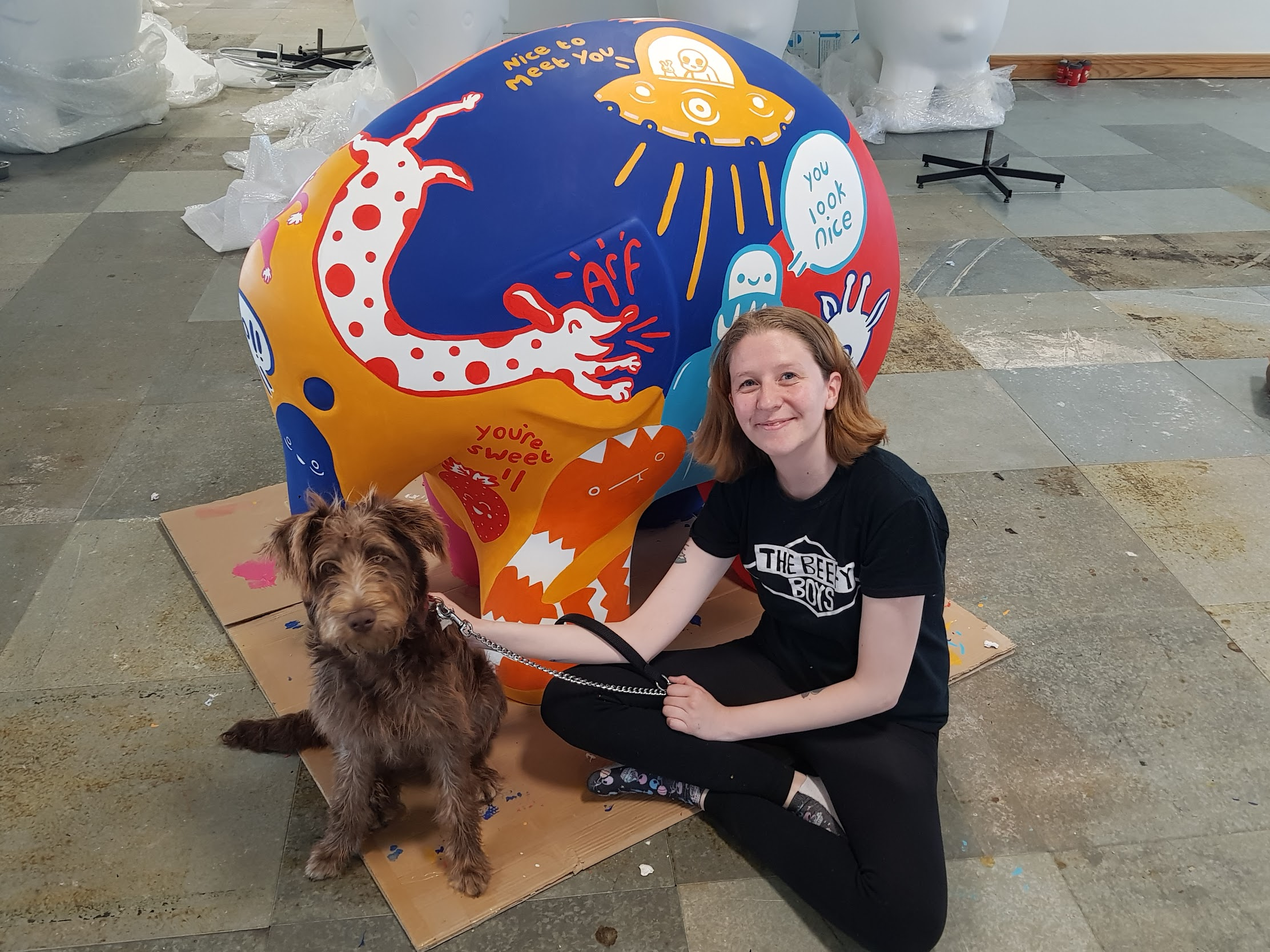 Press Release;  Local artist painted sculpture sales raise £57,000 for good Causes