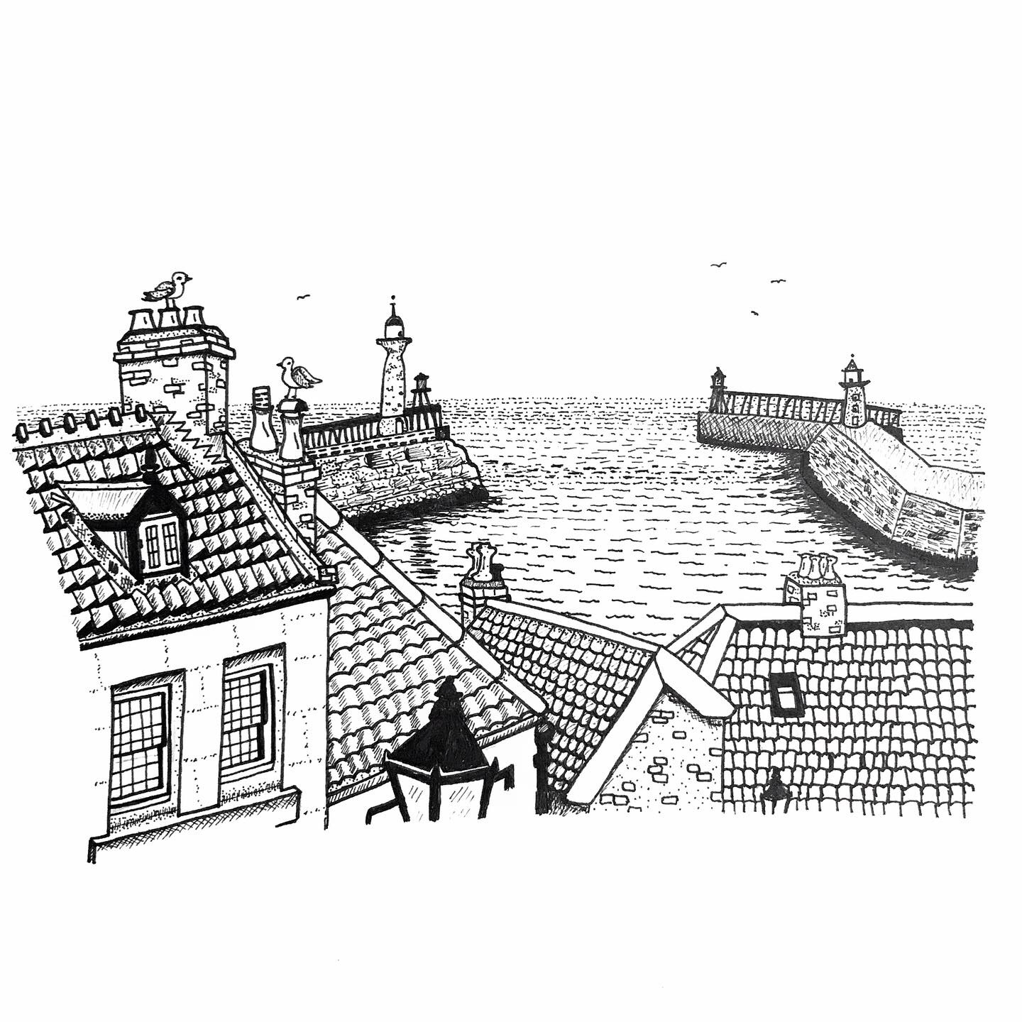 A Hyperactive Artist's Guide to Whitby Part 2