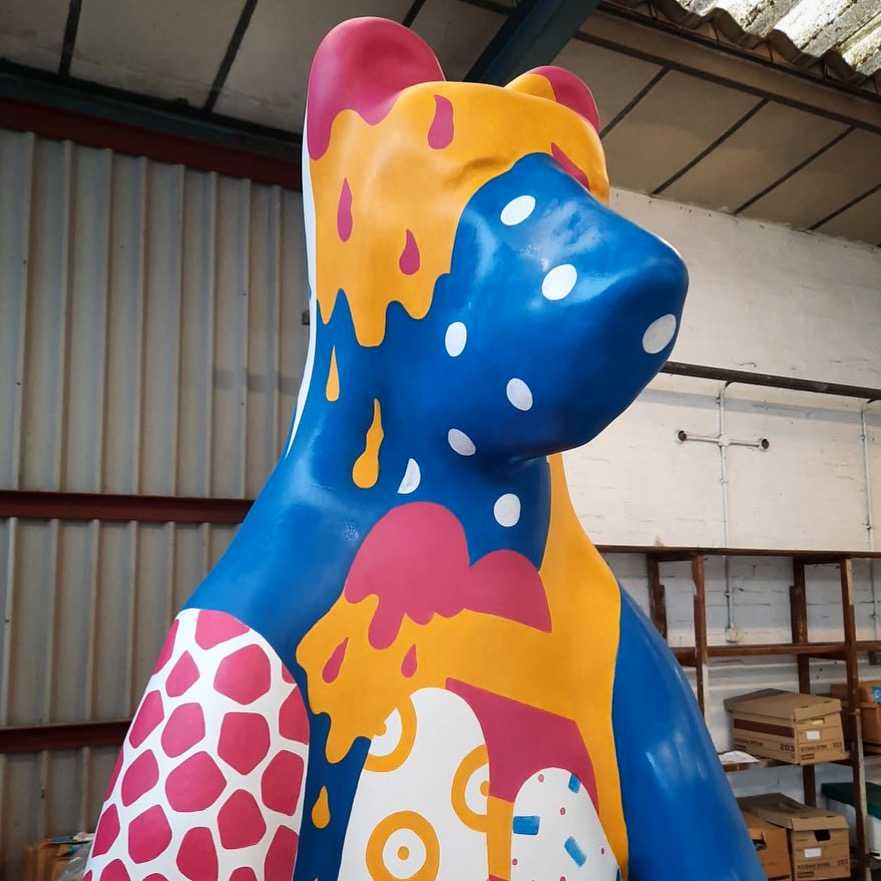 Week Two of Painting for the Bears of Sheffield Trail