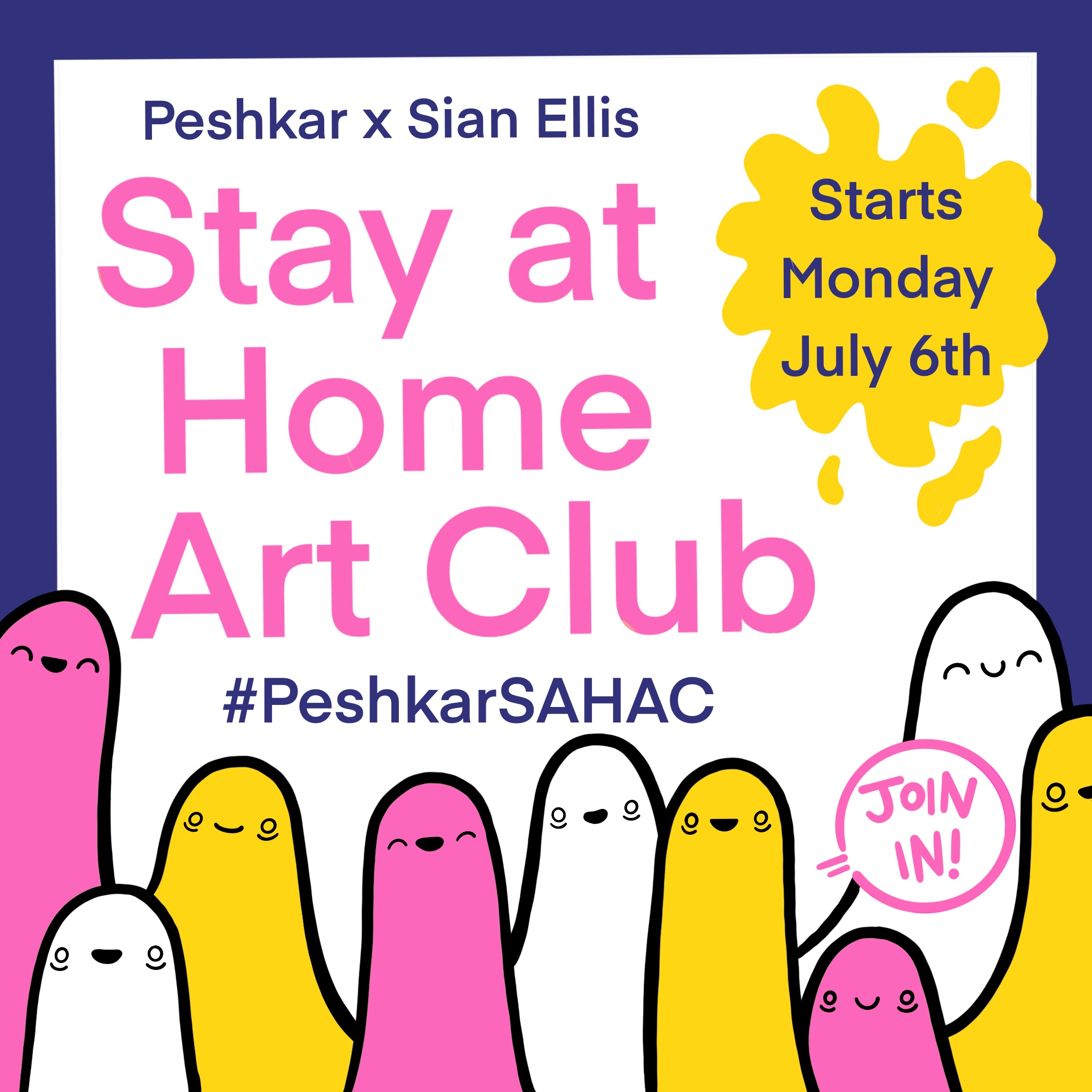 Peshkar Stay at Home Art Club