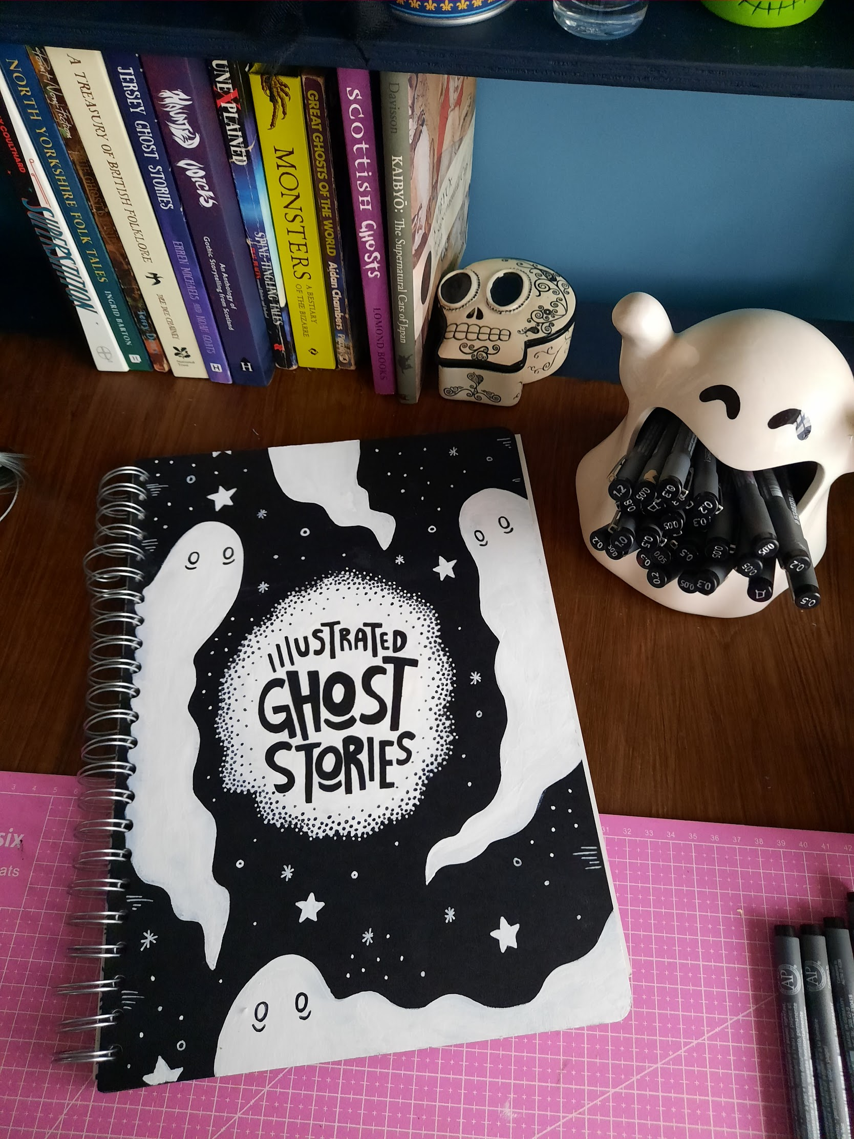 New Project: Illustrated Ghost Stories