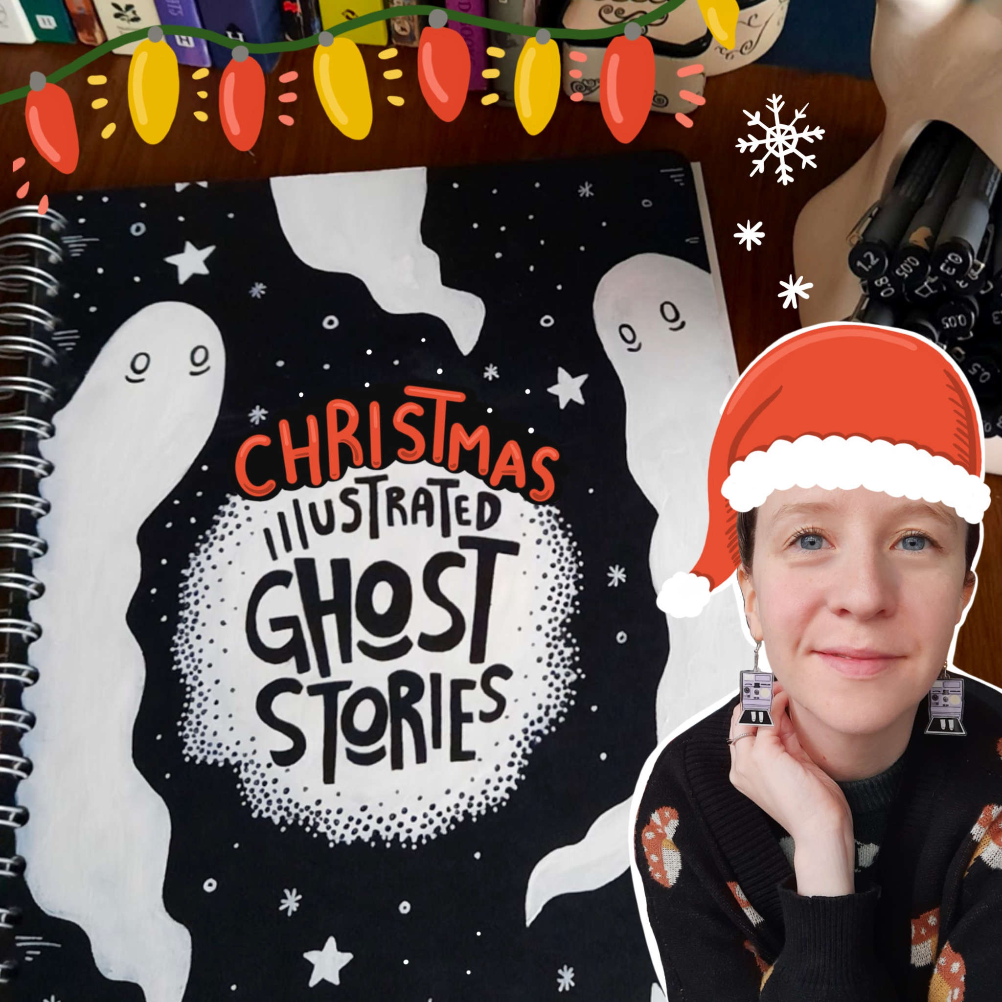 Illustrated Christmas Ghost Story: The Mistletoe Bride