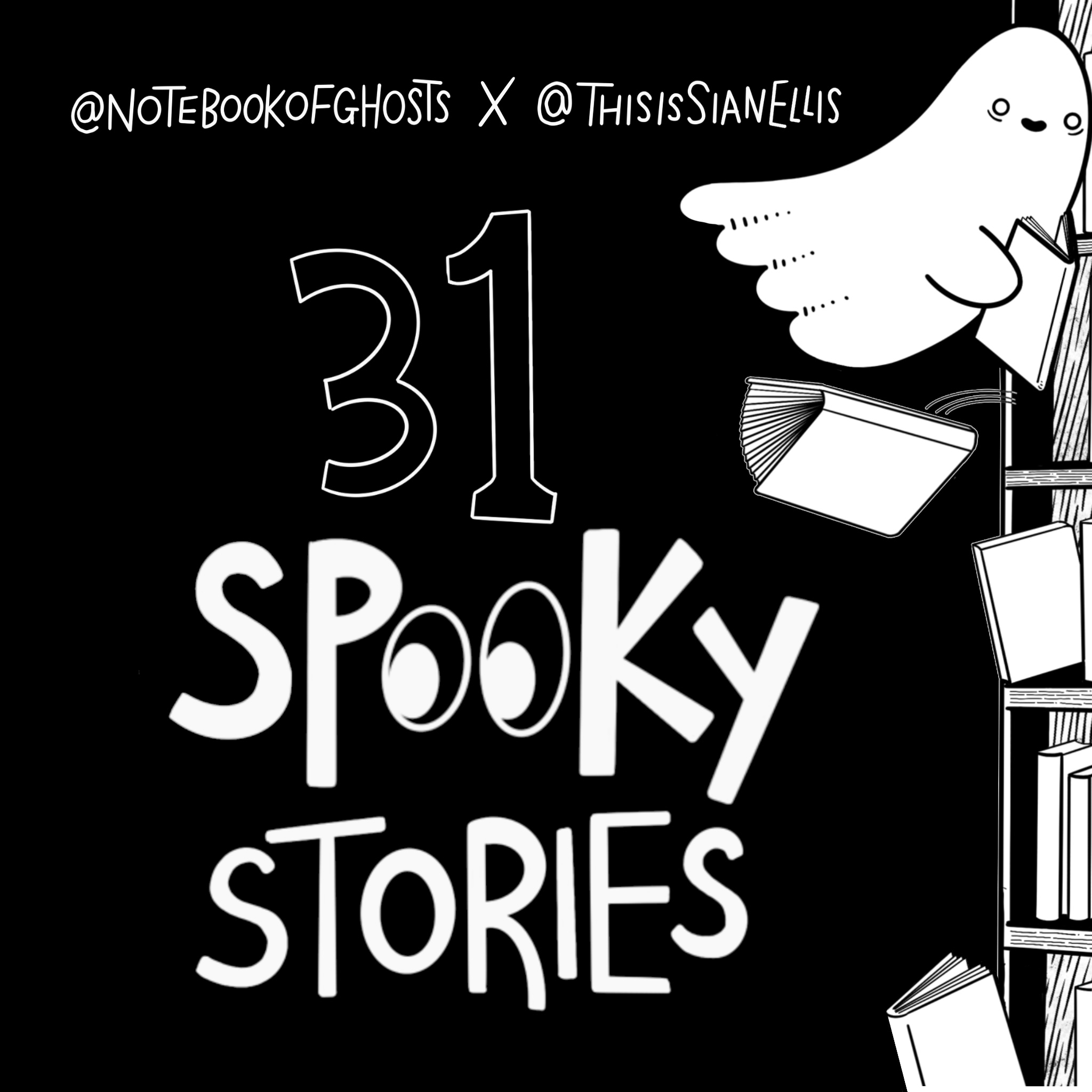 31 Spooky Stories Collab with Notebook of Ghosts