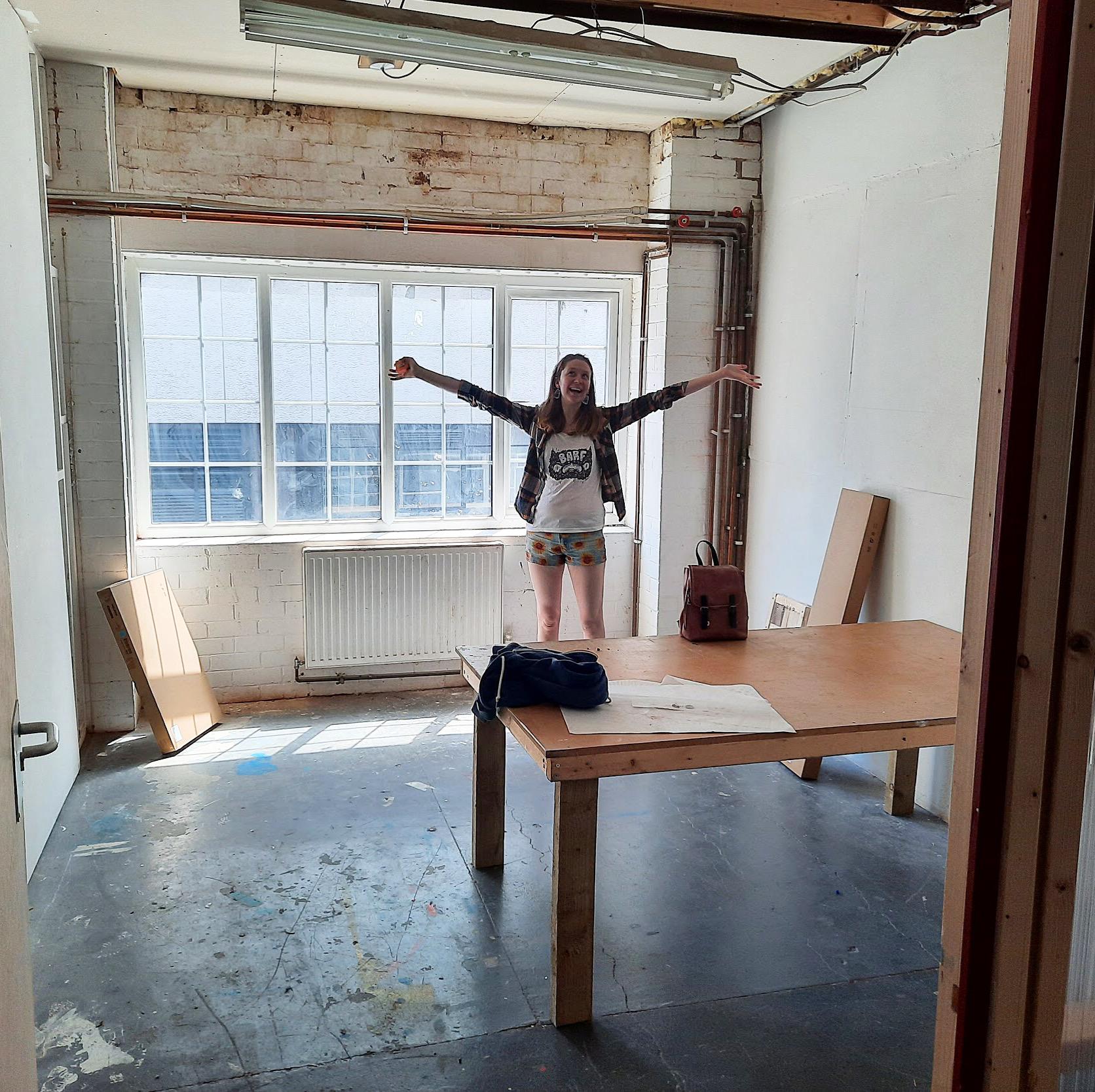 My New Art Studio