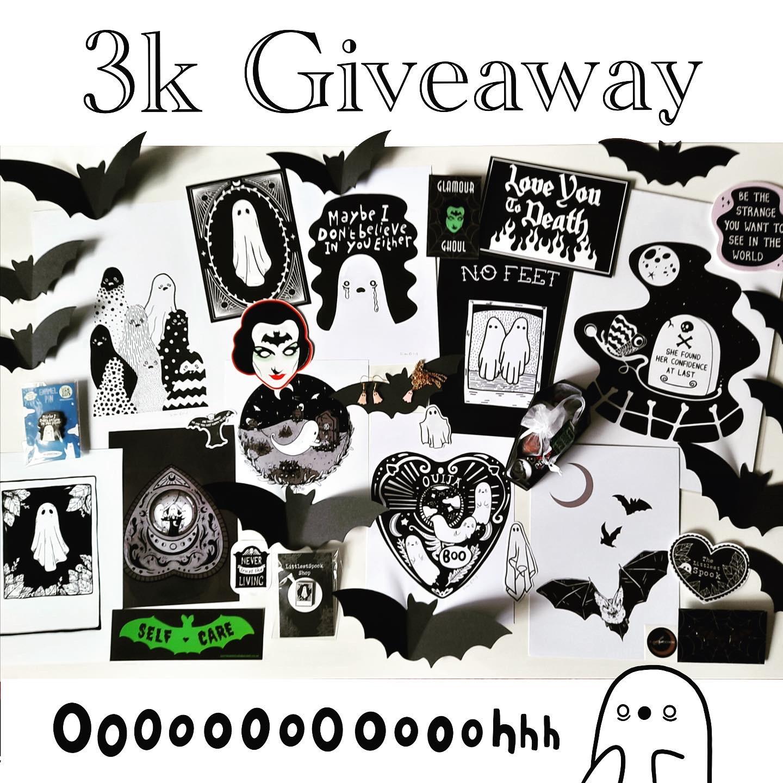 Instagram 3k Giveaway